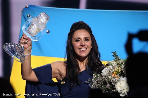 Ukrainos atstovė Susana Jamaladinova laimėjo Eurovizijos dainų konkursą